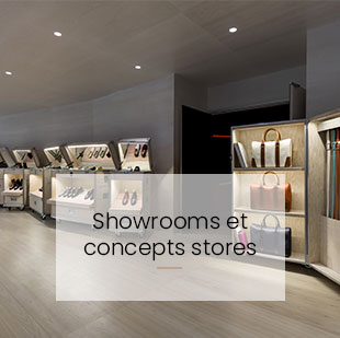 Bouton rediection vers agencement showrooms et concept stores